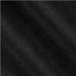 Sheer Cotton Voile Solid Black