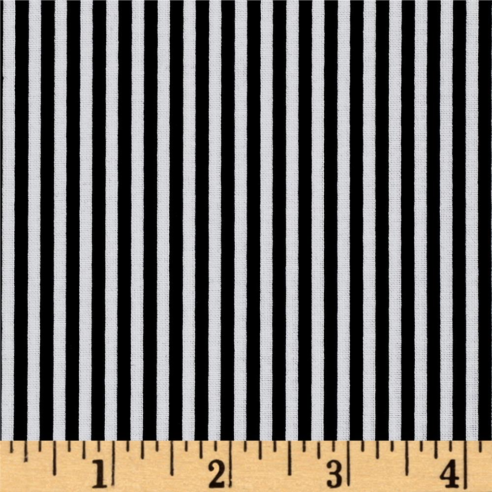 "Riley Blake 1/8"" Stripes Black"