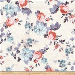 Chiffon Floral Blooms Multi