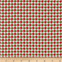 Snow Much Fun Holiday Houndstooth Multi