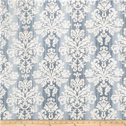 Charlotte Moss Jardine Chenille Jacquard Blue