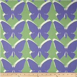 Jennifer Adams Home Chambord Butterfly Blueberry Fabric