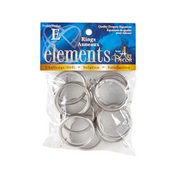 Elements by Art Decor 1 5/8'' Metro Rings