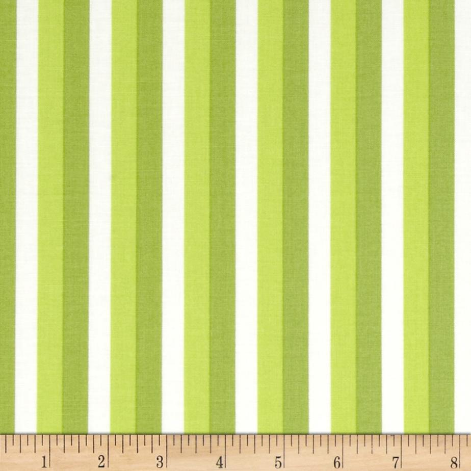 Moda Color Theory Ombre Stripes Lime
