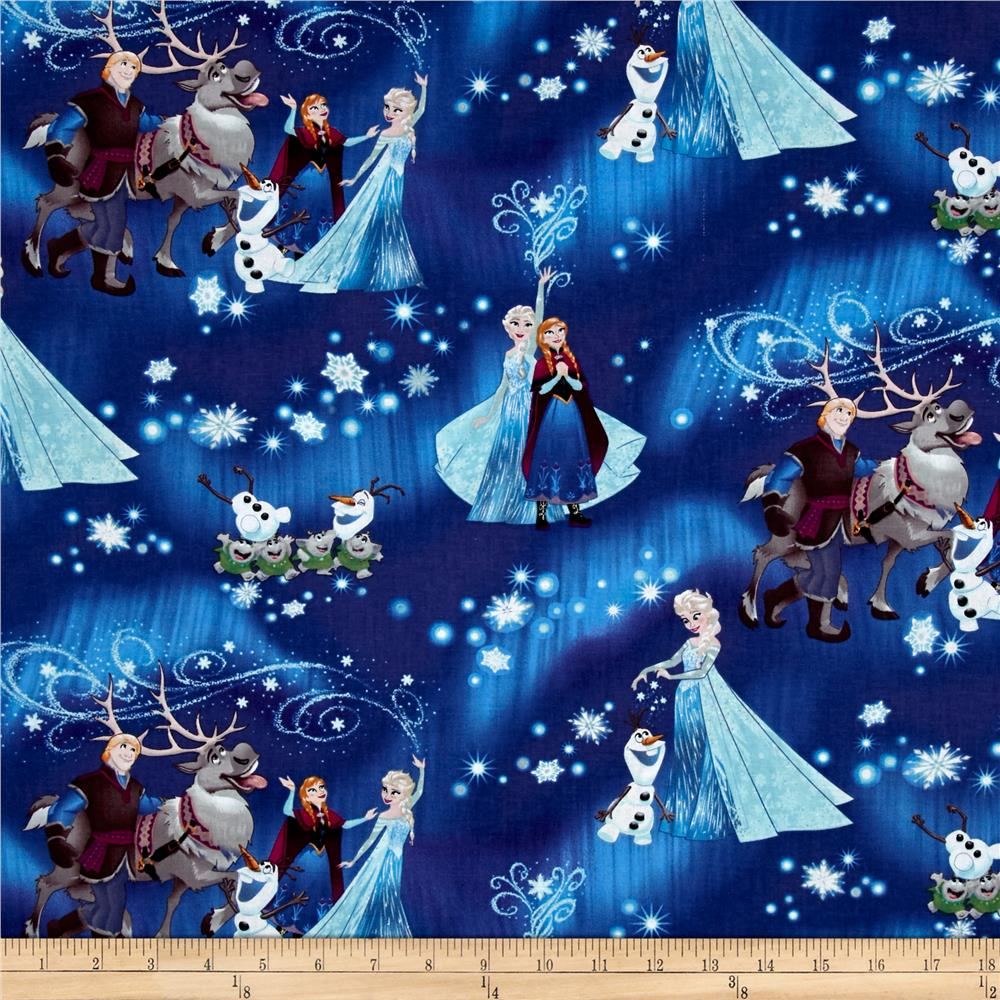 Disney Frozen Snowflake Magic Blue