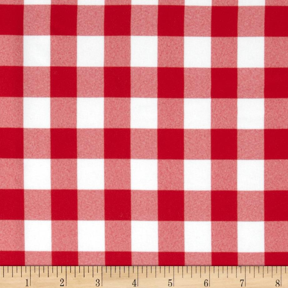 60'' Table Checks Red