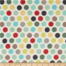 ADORNit Nested Owls Vintage Polka Dot Mint