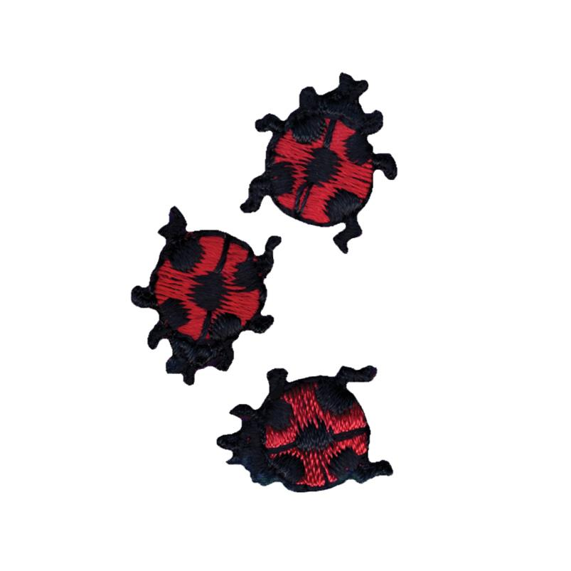 Wrights Iron On Appliques 3/Pkg Ladybugs