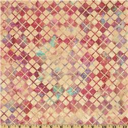 Bali Batik Argyle September Blush