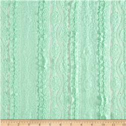 Ruffle Lace Rose Mint