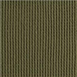 Cotton Thermal Knit Dusty Green