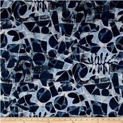 Lizzy House Printmaking Canvas Nosara Blue