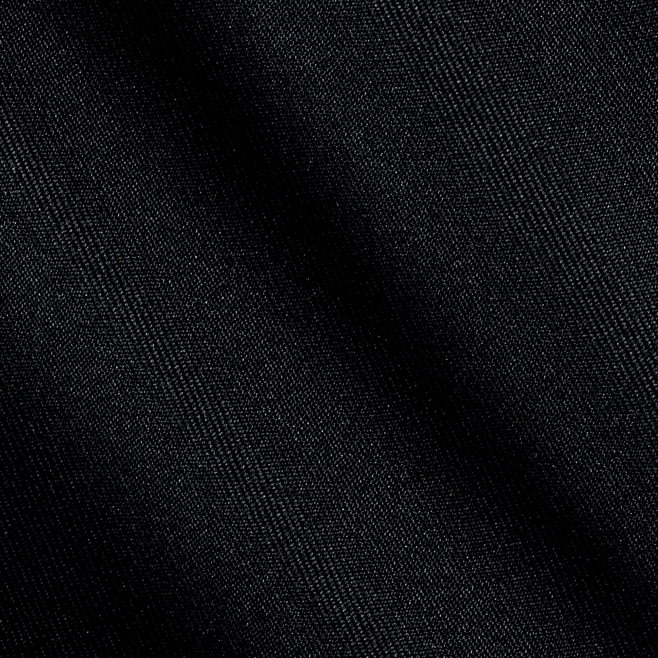 Gabardine Suiting Solid Black Fabric by Ben in USA