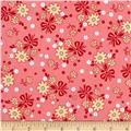 Riley Blake Calico Days Main Floral Pink