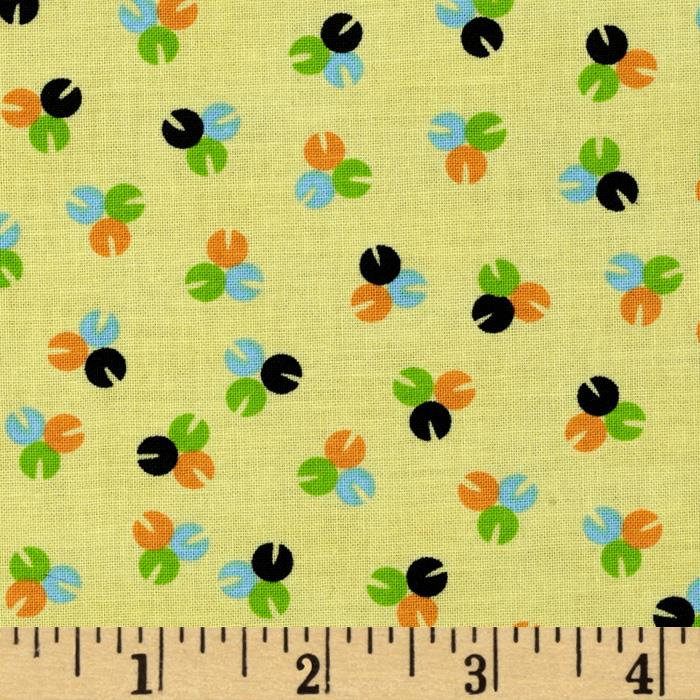 Vintage Vibe Ditsy Floral Yellow