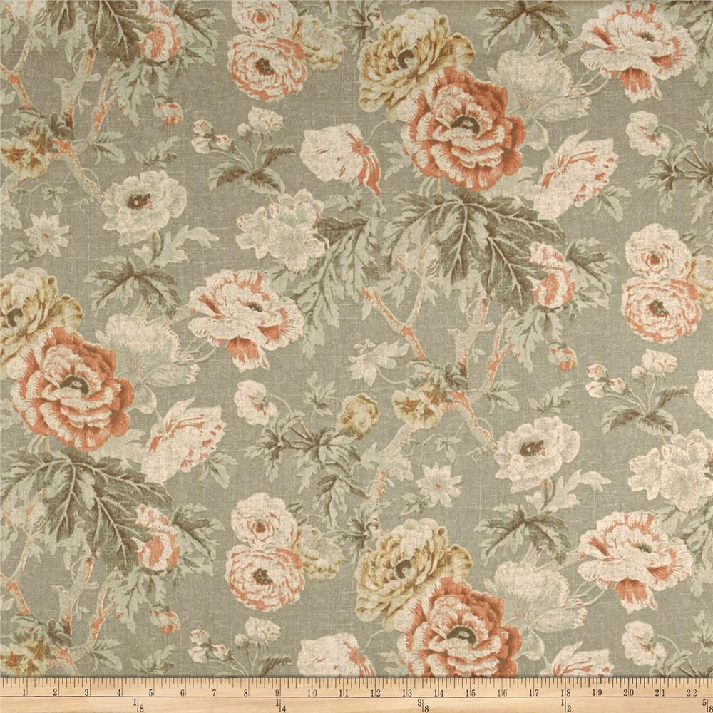 Waverly among the roses bloom discount designer fabric for Where to order fabric