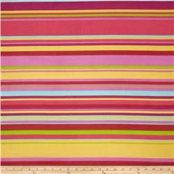 Chiffon Stripes Yellow/Red
