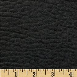 Richloom Faux Leather Lofted Entity Licorice