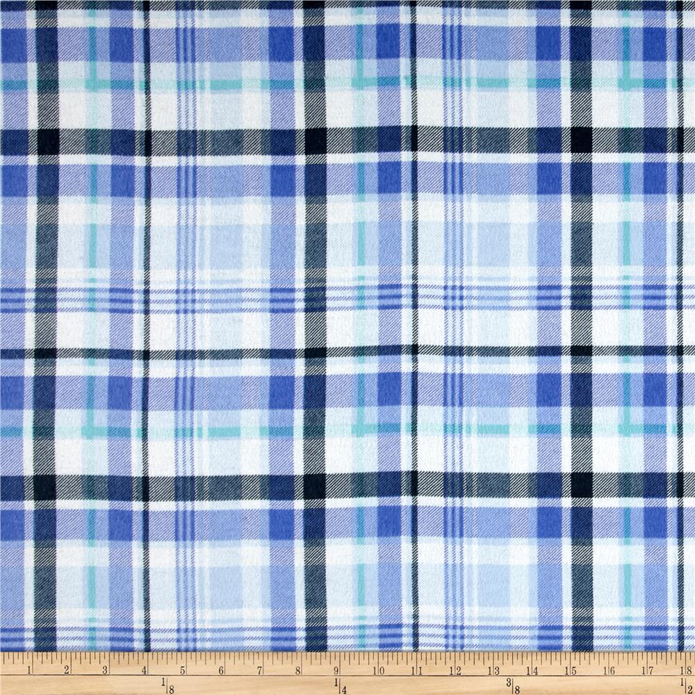 Morgan Plaid Flannel Blue