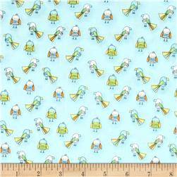 Koala Party Small Birds Turquoise