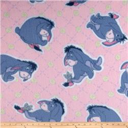 Disney Pooh Fleece Eeyore Pink