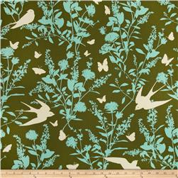 Joel Dewberry Bungalow Home Decor Sateen Swallow Study
