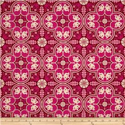 Joel Dewberry Notting Hill Historic Tile Plum