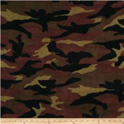 WinterFleece Woodland Camo Green