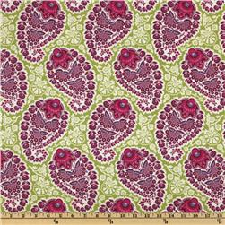 Joel Dewberry Heirloom Paisley Amethyst Fabric