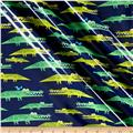 Cloud 9 Orangic Laminate Alligators Navy