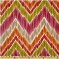 Braemore Tribal Find Ikat Chevron Fruity