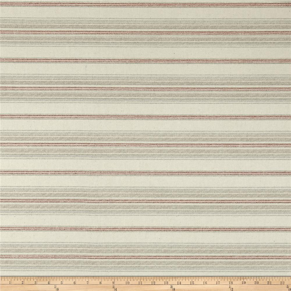 Richloom Waleview Stripe Coral