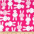 Urban Zoologie Flannel Bunnies Slipper