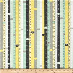 Riley Blake Sew Charming Rulers Mint