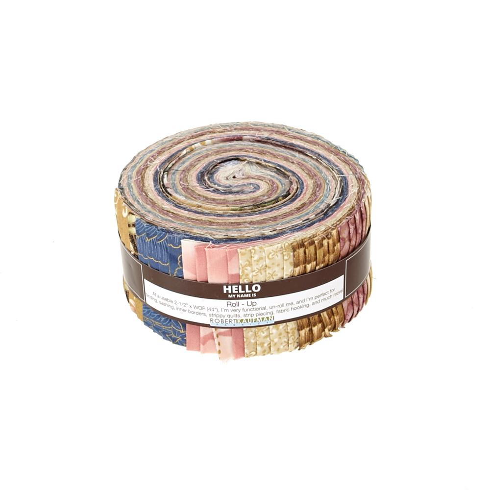 "Kaufman Imperial Collection Garden 2.5"" Jelly Roll Multi"