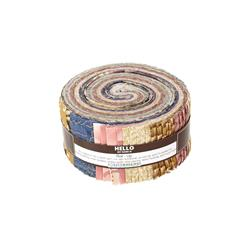 Robert Kaufman Imperial Collection Garden 2.5 In. Jelly Roll Multi