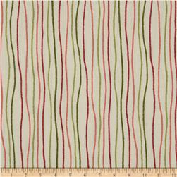 Magnolia Home Fashions Streamers Stripe Poppy