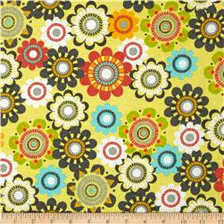 Floral Fairground Floral Yellow