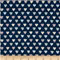 Penny Rose Hope Chest 2 Hearts Navy