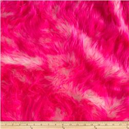 Luxury Faux Fur Candy Shag Hot Pink