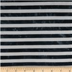 1/2'' Medium Stripe Jersey Knit Black
