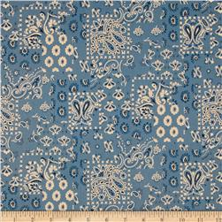 Santa Fe Arroyo Bandana Chambray Fabric