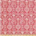 Scandi 4 Lace Red