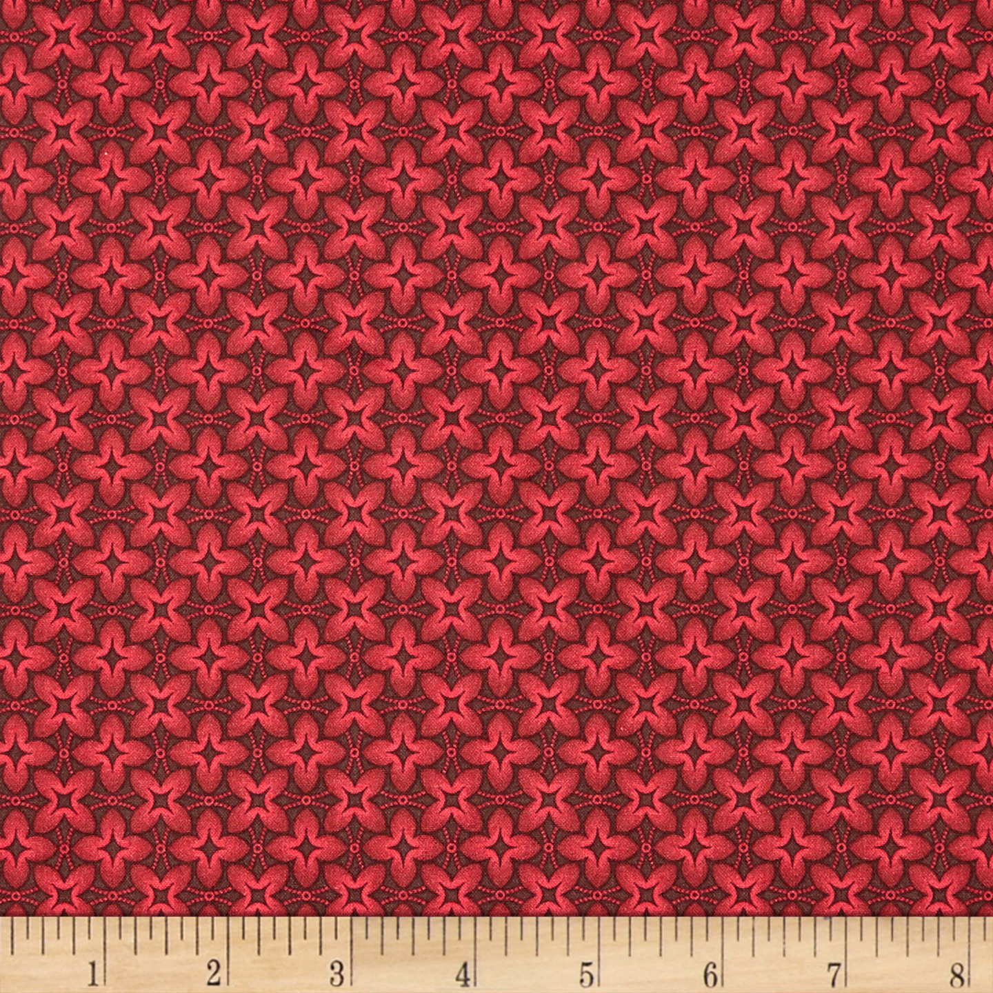 INOpets.com Anything for Pets Parents & Their Pets Baltimore House Sewing Circle Geo Red Fabric