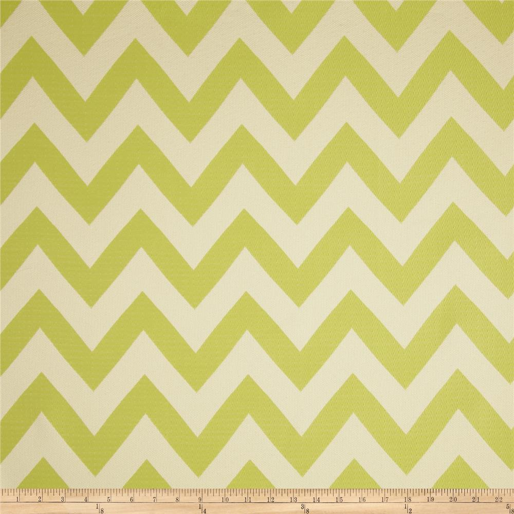 HGTV Home Chevron Chic Jacquard Citrine