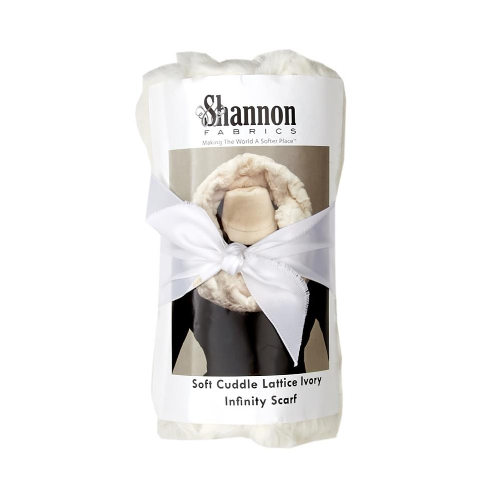 Shannon Infinity Scarf Kit lacttice Ivory