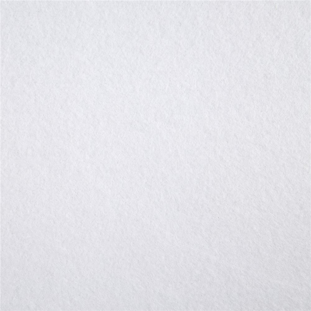Polar Fleece Solid White Fabric