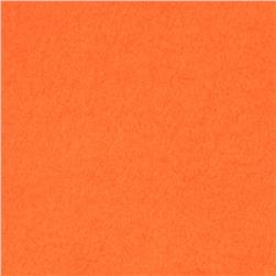 Wintry Fleece Light Orange Fabric