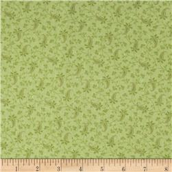 American Bouquet Flannel Vine Blender Green