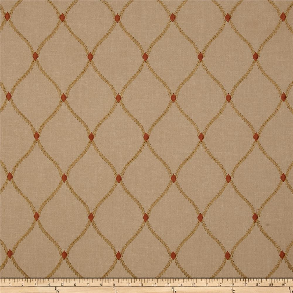 Swavelle/Mill Creek Embroidered Engaging Hearth